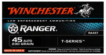 45 AUTOMATIC 230 GR. RANGER T-SERIES 50RD