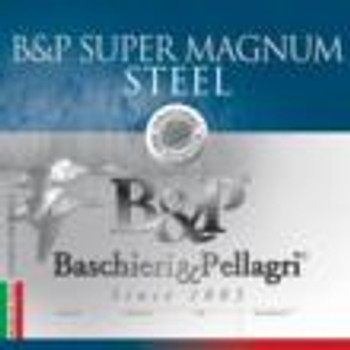 B&P Magnum Steel Shotshells- 12 ga 2-3/4 In 1-1/8 oz #2 1450 fps 25/ct