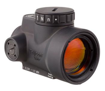 Trijicon 2200028 MRO 2.0 MOA Adjustable  Without Mount 1x 25mm Obj 2 MOA Green Dot Black Hardcoat Anodized CR2032 Lithium