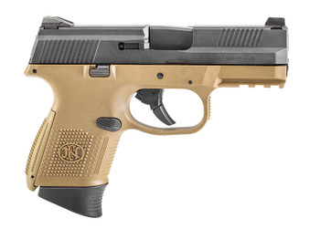 FN 66100356   FNS9C 9MM NMS 12/17R    FDE/BLK LE
