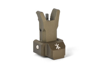 Unity Tactical Fusion Folding Front Sight FDE