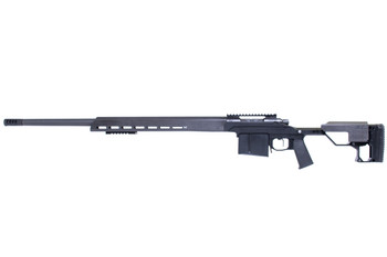 "Christensen Arms MPR 338Lap Chassis BLK 27"" MB"