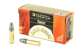 Federal Gold MDL 22Lr 40 Grain Weight TGT 50/5000