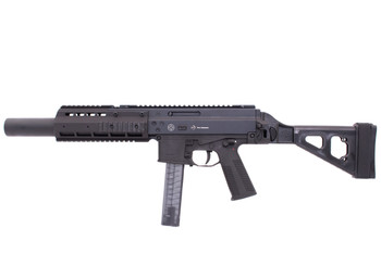 "B&T APC9-SD INTEGRALLY SUPPRESSED SB PSTL 9MM 5.7"" 30RD BLK"
