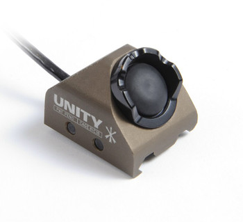 """Unity Tactical HOT Button Rail Mount Laser/Insight 9"""" FDE (HBR-IF) 810007880242"""