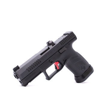 CZ Custom Shop Black P-10 C W/ RED Trigger