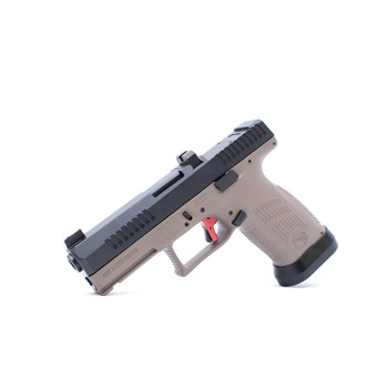 CZ Custom Shop FDE P-10 C W/ RED Trigger