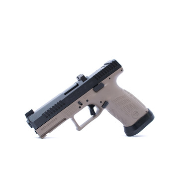 CZ Custom Shop FDE P-10 C W/ Black Trigger