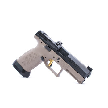 CZ Custom Shop FDE P-10 C W/ Gold Trigger