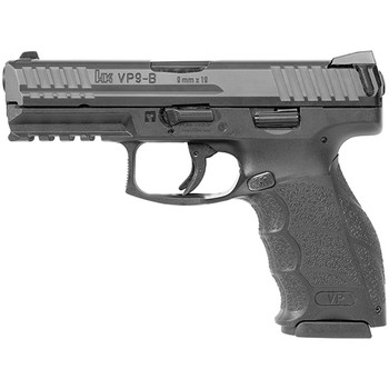 "HK Vp9-B 9MM 4.09"" 15Rd BL 2 Mags 81000261"