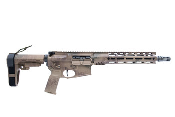 Arsenal Democracy AD-15 11.5 MLOK SF Rattle Can Camo Pistol SBA3