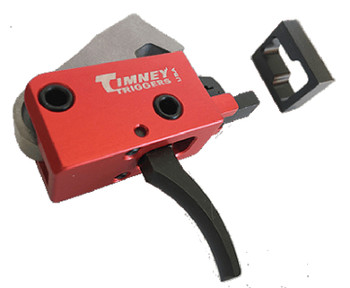 Timney Triggers 682 PCC Trigger  AR-Platform Two-Stage Curved 2.00 lbs