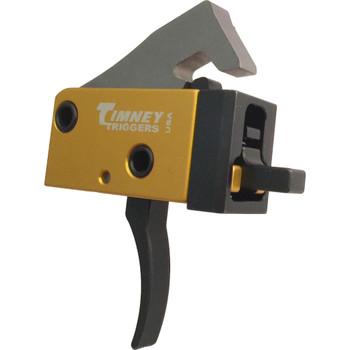Timney Triggers 681 Pcc Trigger  Ar-Platform Single-Stage Curved 2.50-3.00 Lbs