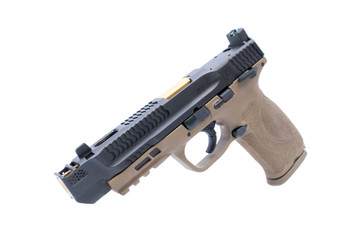 WAR Afterburner M&P 2.0 9MM Black Slide W/ TIN Barrel