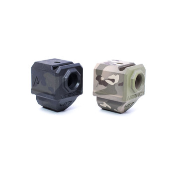Agency Arms 417 Single Port Compensator Multicam