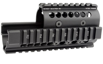 Midwest Industries Ak47/74 Quad Rail Black MIAK