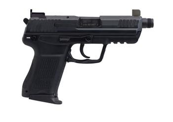 HECKLER & KOCH HK45 COMPACT TACTICAL V7 DAO 2-10RD BLACK