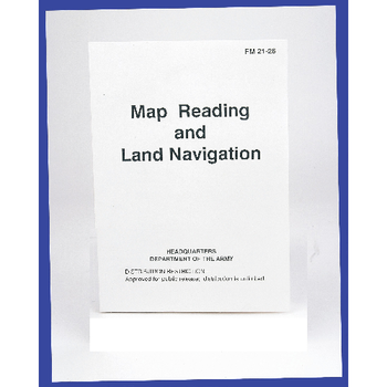 5ive Star Gear Map Reading & Land Navigation Manual