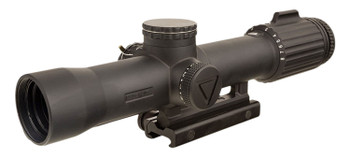 Trijicon 2400003 VCOG  1-8x 28mm Obj 109.20-13.10 ft FOV Matte Black Finish Red Segmented Circle/MRAD Crosshair Dot With Mount