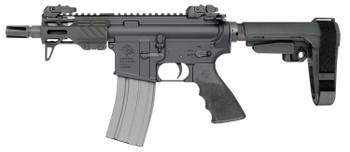 "ROCK RIVER ARMS RUK-15 PISTOL 5.56 NATO 4.5"" BBL M-LOK W/SBA3 BRACE"