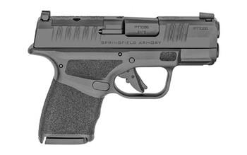 "Springfield Armory HC9319BFOSP Hellcat  9mm Luger 3"" 11+1 Black Melonite Adaptive Texture Grip, Tritium/Luminescent Front Sights Optic Ready"