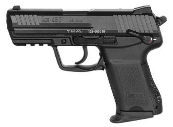 "HECKLER & KOCH HK45C COMPT V1 DA/SA 45ACP 3.94"" BBL NS 3-8RD BLK"