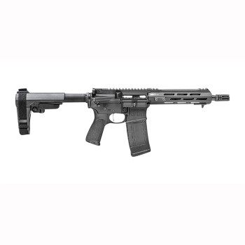 "Springfield Armory STV909300BSBAS Saint Victor 300 Blackout 9"" 30+1 Black Hard Coat Anodized Black Bravo Mod3 5 Position SBA3 Brace"