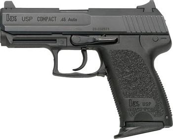 "HECKLER & KOCH USP45 COMPACT V7 DAO .45ACP 3.94"" BBL 2-8RD BLACK"