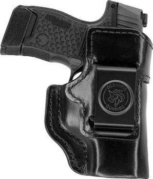 DESANTIS INSIDE HEAT HOLSTR RH IWB LEATHER FN 503 BLACK
