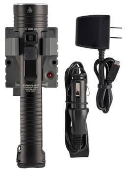 Streamlight 78101 Stinger LED 2000/850/100 Lumens LED Aluminum Black Anodized SL-B26