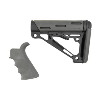Hogue AR15 M16 OM Bvrtail Grip Buttstk Comm BuffTube Gry