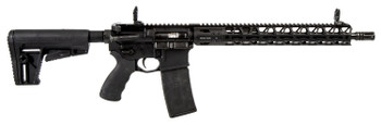 "Adams Arms FGAA00431 P2 AARS 300 Blackout 16"" 30+1 Black 6 Position Collapsible Stock"