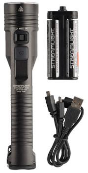 Streamlight 78100 Stinger LED 2000/850/100 Lumens LED Aluminum Black Anodized SL-B26