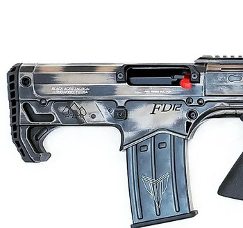 Black Aces Pro Series Bullpup Pump Shotgun - Distressed FDE