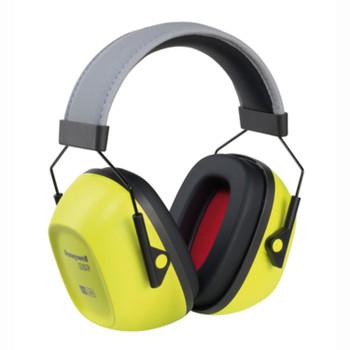 Leight VS130HV VeriShield HiViz Yellow Over the Head Earmuff
