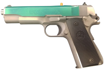 """Colt Mfg O1070A1CS-CM 1911 Government 45 ACP 5"""" 7+1 Brushed Stainless Steel"""