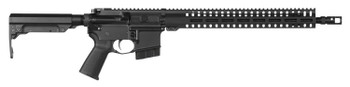"""CMMG 60A1089 Resolute 200 MK4 6mm ARC 16.10"""" 10+1 Black Hard Coat Anodized Receiver CMMG 6 Position RipStock Stock"""