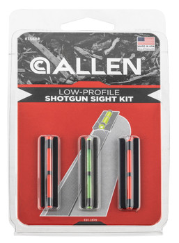 Allen 81568A Illuminated Front Sight  Remington, Benelli Clamp On Green Red