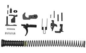 KE Arms KP-15 Mil-Spec Lower Parts Kit - Includes Carbine Buffer & Spring