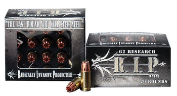 G2 RESEARCH G2 RIP 9MM 20 ROUND BOX - P9MM