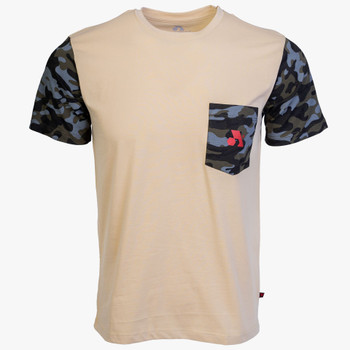 Arsenal Men's Expedition Tee Beige and Camo