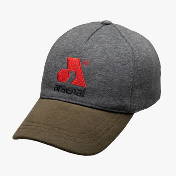 Arsenal Men's Stretch Cap Gray