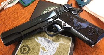 COLT Colt Custom Colbalt Blue EL 38Super TALO