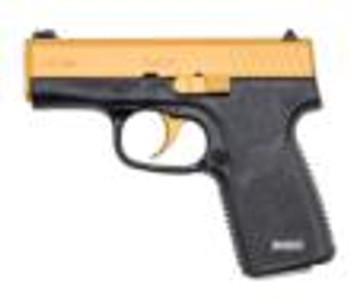 "Kahr CT380 Gold DEMO .380 ACP 7rd Magazine 3"" Barrel Black Frame/Gold Cerakote Slide"
