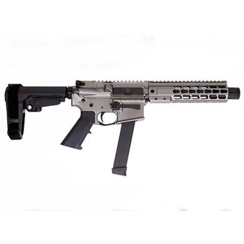 Brigade MFG BM-9 Forged Aluminum AR Pistol - Grey