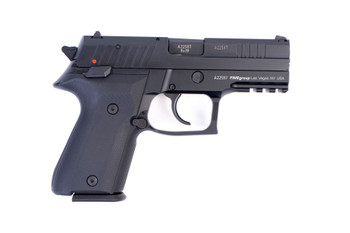 Arex Rex Zero 1CP-01B1 9mm Black with Hogue Solid Black Grips Semi-Automatic 15 Round Pistol