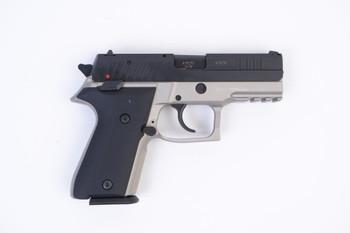 Arex Rex Zero 1CP-13B1 Grey with Hogue Black Grips 9mm Semi-Automatic 15 Round Pistol