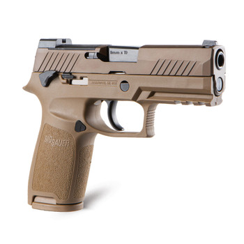 P320 M18 9MM 3.9 in barrel 17 Round Coyote with Night Sights
