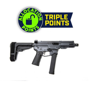 Battle Arms Development Billet XIPHOS 9P AR Pistol - Combat Grey