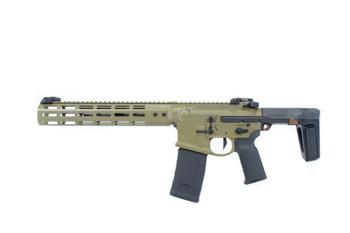 Noveske GEN 4 N4-Pdw-Sd Bazooka Green 300Blk 7.94 Qbrace Pistol Mlok (Suppressor Ready) (02000875)